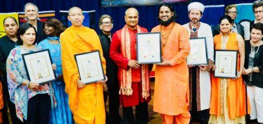 Brahmeshanancharya Swamiji in USA